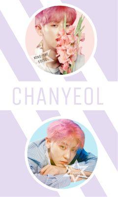 exo exok exochanyeol chanyeol pastel