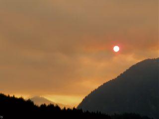 freetoedit smoke fire sunrise water