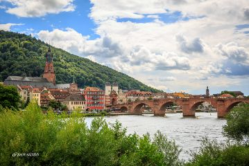 photography travel colorful germany heidelberg