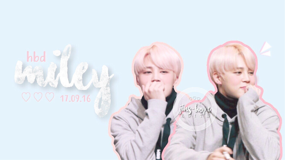 @bangtannugget happy birthday cutie!! ilysm and i hope your birthday is awesome!!! 💓💓💓💓  →sorry if requests are delayed, i'm working on them i promise 🙃  #bts #btsarmy #btsjimin #parkjimin #jimin #kpop #pastel #edits #happybirthday #happybirthdaymiley #iloveyou