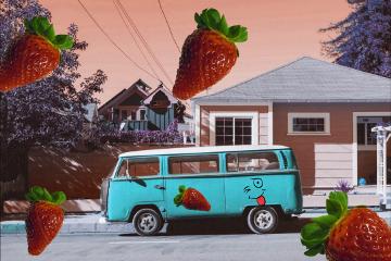 freetoedit strawberry clipart myedit madewithpicsart