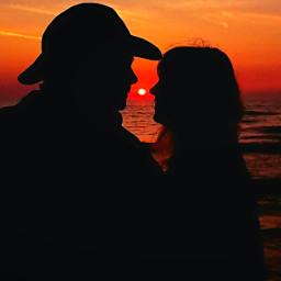 freetoedit silouette sunset sunrise naturephotography