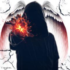 freetoedit amazing power angel