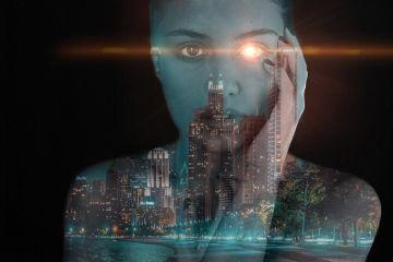 freetoedit doubleexposure city lensflare