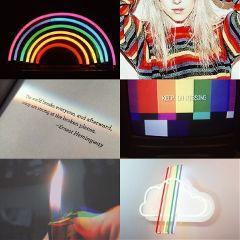 pride lgbt rainbow grunge aesthetic