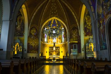 church architecture interior details historic