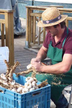 market man garlic