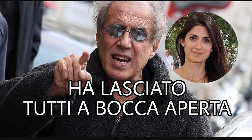 """Risultati immagini per Celentano difende Raggi: """"I partiti la temono perché pensano che farà un miracolo a Roma"""""""