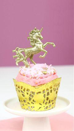 cupcakes unicorns