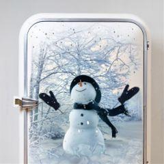 fridgeremix freetoedit refrigerator snow snowscape