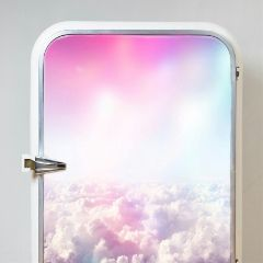 freetoedit fridge clouds beautiful unicorn