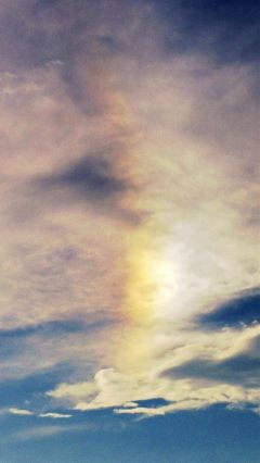 clouds sun vibrant rain photography