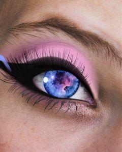 magical eyes unicorn