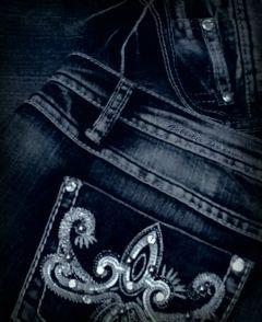 dpcdenim denim jeans rhinestones bling