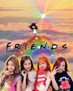 freetoedit blackpink kpop bestie friendship