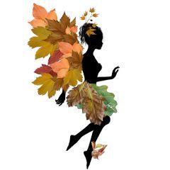 fairy autumniscoming autumnleaves swing autumnfairy