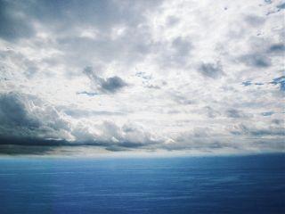 freetoedit sky clouds blue sea