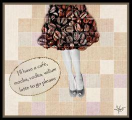 coffee order dress woman legs freetoedit