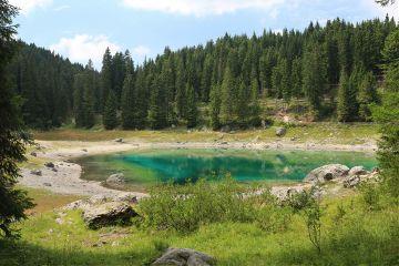 travel southtirol italy karersee