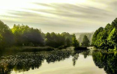 freetoedit river morning fog