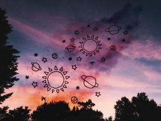 freetoedit smoke planets clouds sky