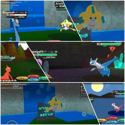 legends pokemon jirachi latiasandlatios dragonair freetoedit