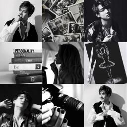 got7 limjaebeom jacksonwang black moodboard aesthetic