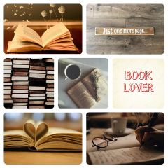 books aesthetic collage freetoedit
