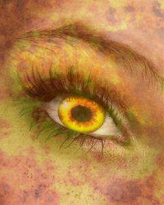 freetoedit eye fire sun red