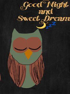 goodnight owl mydrawing madebypicsart