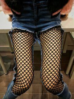 freetoedit weird cool fishnet stocking