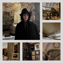 exo aesthetics chillout museum beig