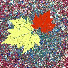 freetoedit glitterbackground leafs