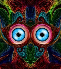 freetoedit abstract pop eyes colorful