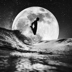 freetoedit moon jump edit surreal