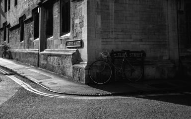 street bycicle blackandwhite architecture road