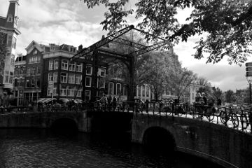 blackandwhite photography streetphotography city amsterdam