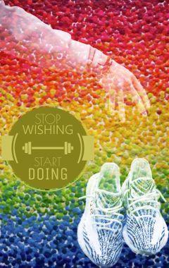 flowers tennisshoes exercise motivation justdoit
