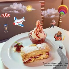 strawberry dessert delicious freetoedit