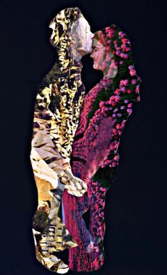 freetoedit doubleexposure flowers desert love