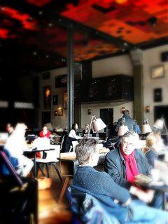 amsterdam cafe people coffeetime freetoedit