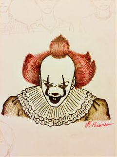 pennywise it art drawing mydrawing