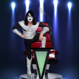 freetoedit kissband acefrehley thevoice