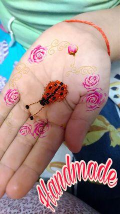 handmade ladybug cute emotions smile freetoedit