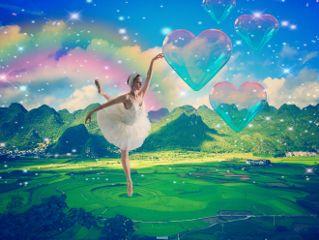 rainbow hearts dailyremix dailystickerremix colourful freetoedit