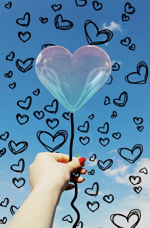 #heart #bubble #heartbubble #love #heartlove