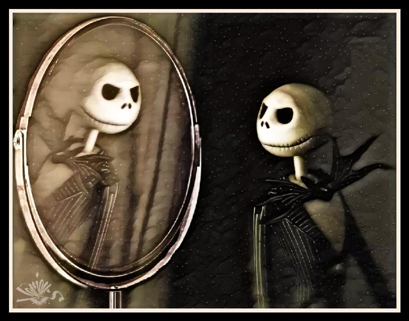 #mirrorsremix #nightmarebeforechristmas #jackskellington #timburton