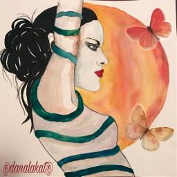 art artlife drawing painting portraitpainting
