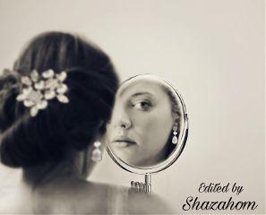 freetoedit mirrored shazahom1 emotions portrait