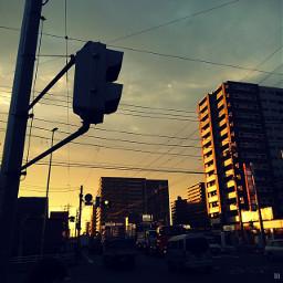 sunsettime street route254 afterwork onthewayhome